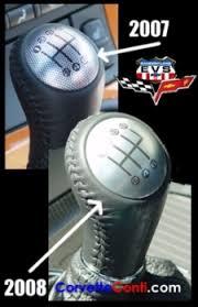 corvette shift knob