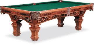 brunswick heritage pool table