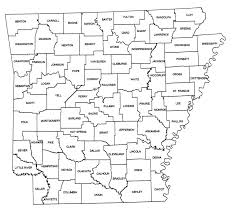 map of arkansas cities