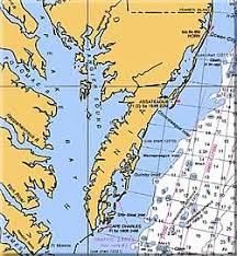 map of chesapeake bay area