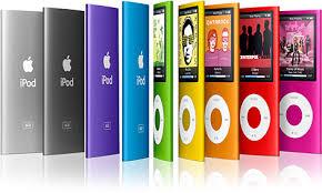ipod nano 4g colors