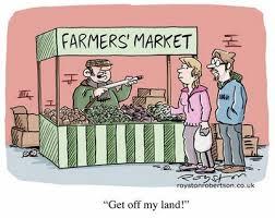 cartoon market