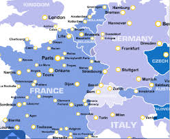 euro railway map
