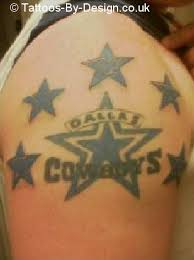 dallas cowboys tattoo