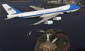 airforce one newyork