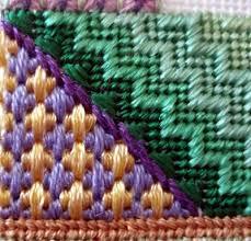 canvas stitching