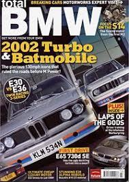 bmw magazines