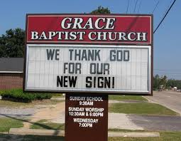 changeable sign