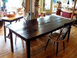 barn board table
