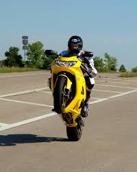 wheelie on a bike