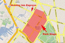 map of park slope