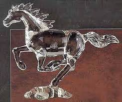 horse glass