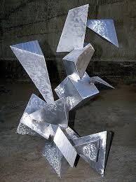 abstract metal sculptures