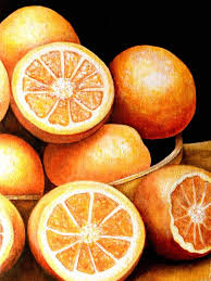 paintings of oranges