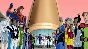 legion of superheroes animated