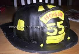 firefighter cakes