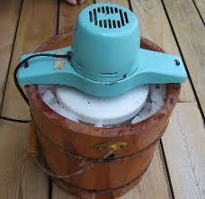 homemade ice cream