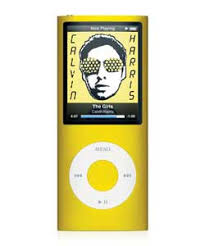 new ipod nano yellow