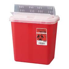 biohazardous containers