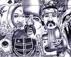 chicano drawings
