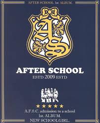 after school 1st album