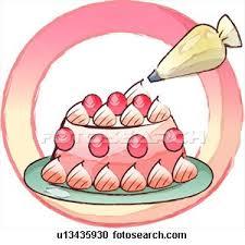 decorating dessert