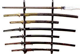 display swords