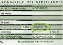passport nummer