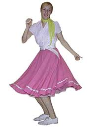 costumes of the 1950s