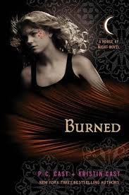 burned a house of night novel