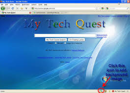 background online