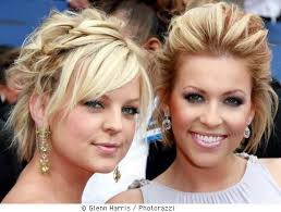 pictures of celebrity updos