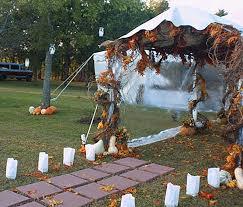 fall wedding arches