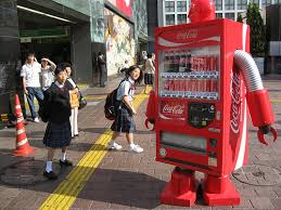cocacola vending machine