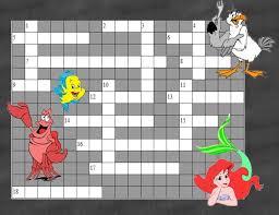 little mermaid puzzles