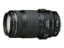 lente canon 70 300