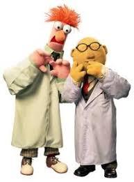 bunsen and beaker muppets