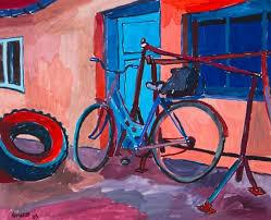bicycle paintings