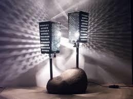 lampe en galet