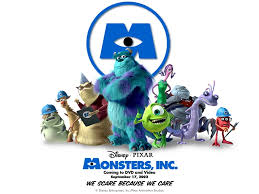 monsters pixar