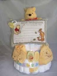 pooh diaper cakes