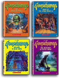 goosebumps books series