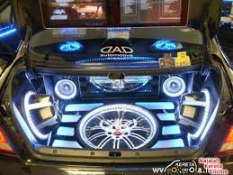 audio system for a car