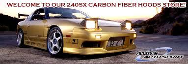 carbon fiber 240sx