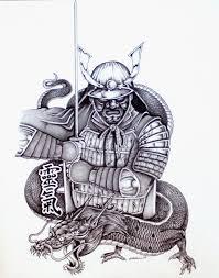 samurai warriors tattoo