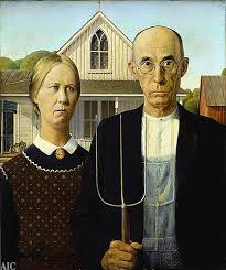grant woods american gothic