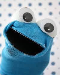 cookie monster socks