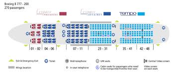 boeing 777 200 seating