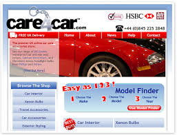 car web design
