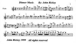 flute music pieces